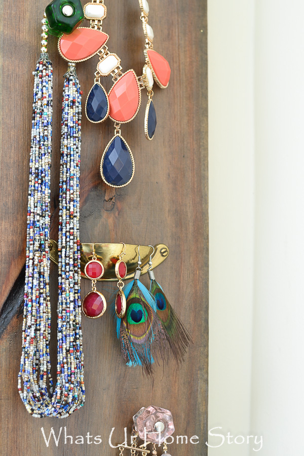 DIY Jewelry Organizer