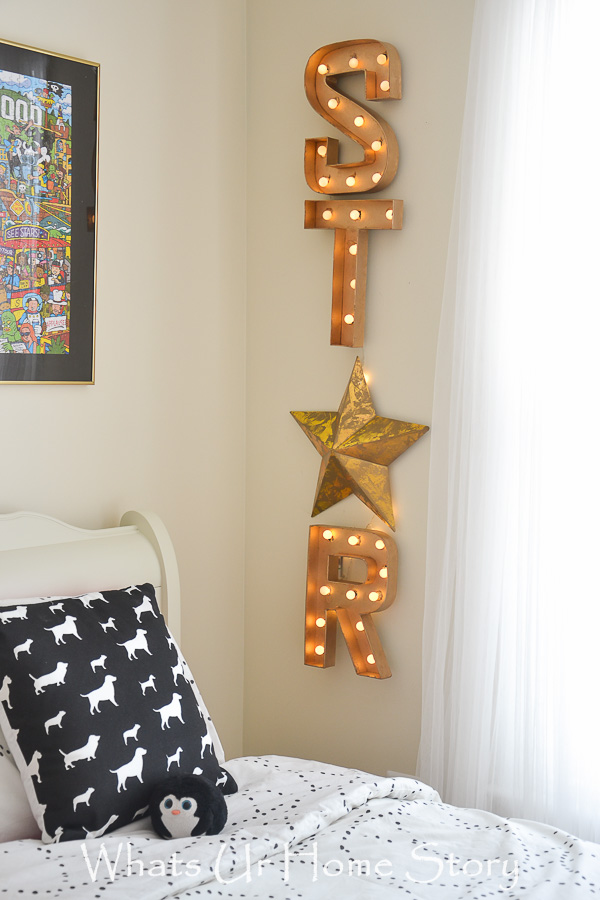 DIY Marquee Letters Sign