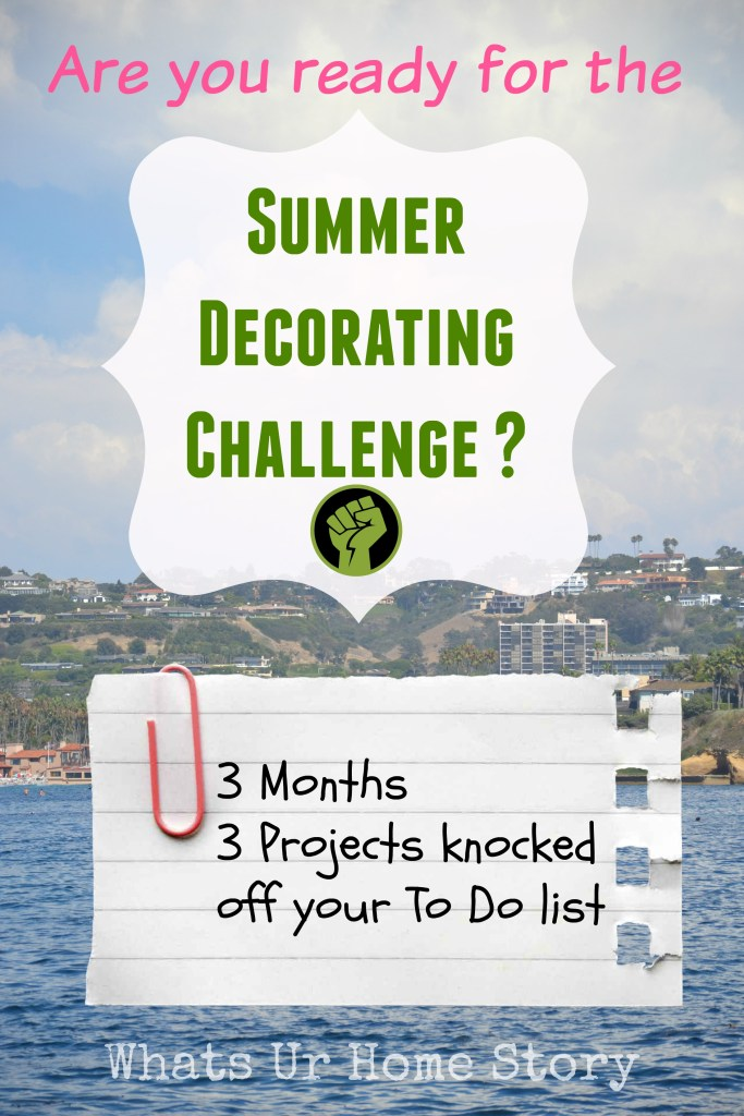 Summer Decorating Challenge   July