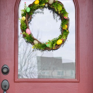 Easter Craft Ideas Easter Egg Wreath