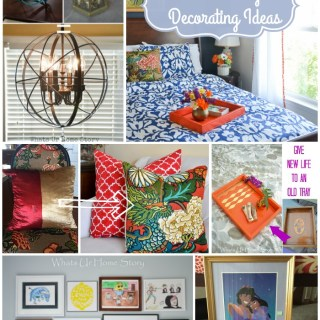 Great Post on Low Budget Decorating Ideas