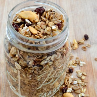 homemade granola recipe