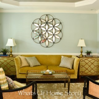 Eclectic living room with sea foam green wall color neutral living room