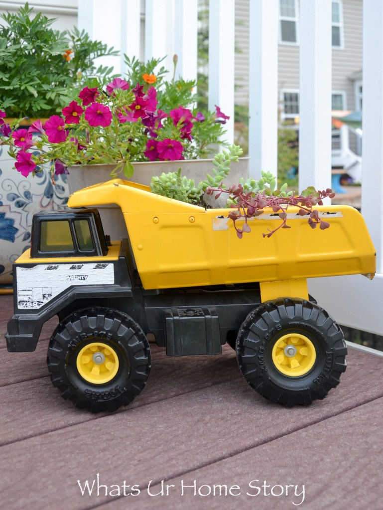 Succulent Toy Truck Planter