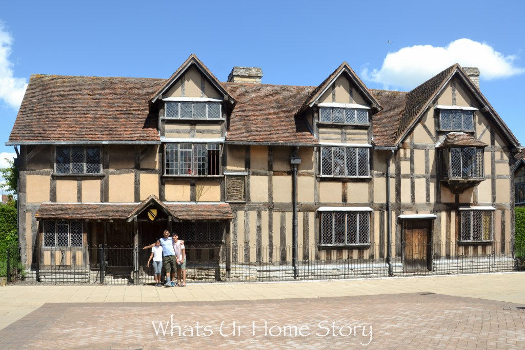 Stratford upon Avon   Shakespeares Birthplace