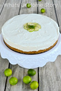 No Bake Key Lime Cheesecake