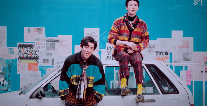 Watch Exos Chanyeol And Sehun Say We Young In New Collaboration Mv