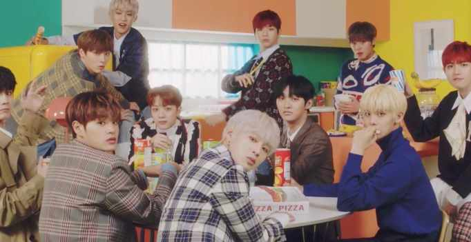 Watch Wanna One Drops Music Video For New Single Spring Breeze Wtk