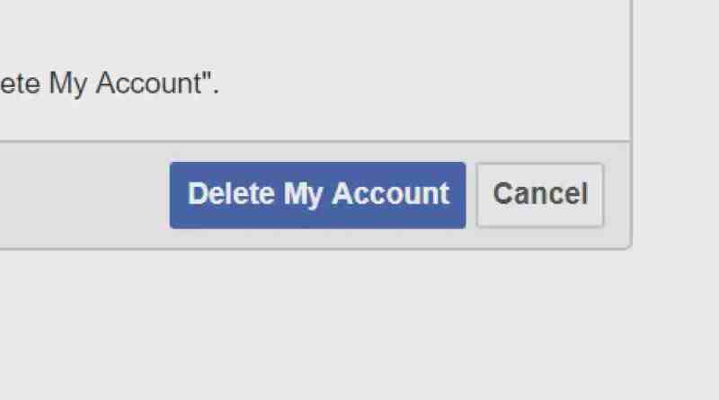 #deletefacebook   It's a thing now