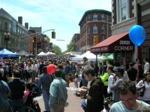 Harvard Square Mayfair Festival