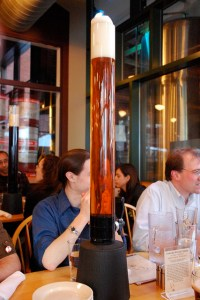 Beer Tower at Cambridge Brewing Company