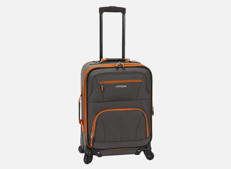 Rockland Luggage 19 Inch Expandable Spinner Carry On.