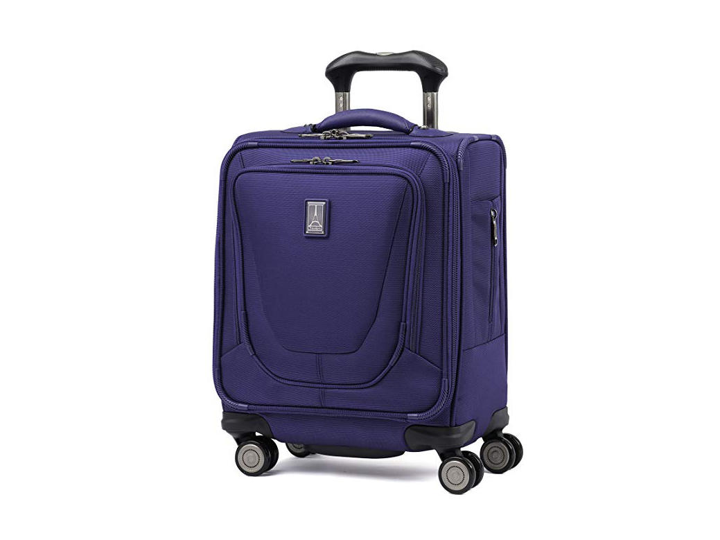 """Travelpro Luggage Crew 11 16"""" Carry-on Spinner Tote, Indigo"""