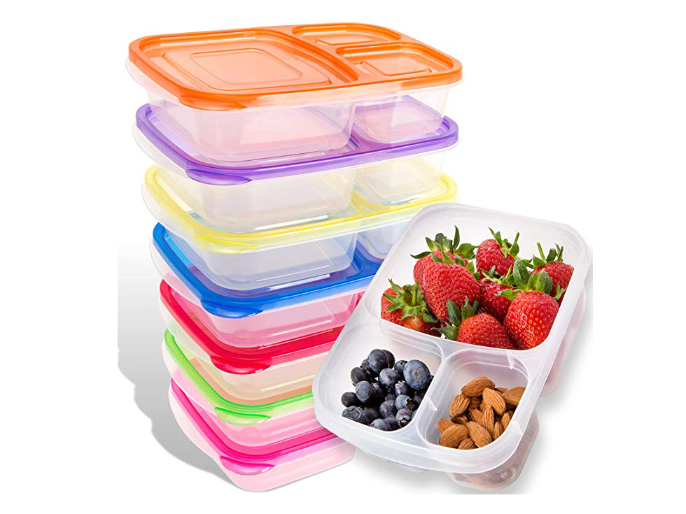 Food containers for all-inclusive resort