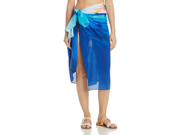 Gottex Hawaii Silk Pareo Swim Cover-Up