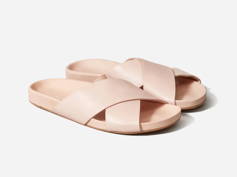 The Form Crossover Sandal.