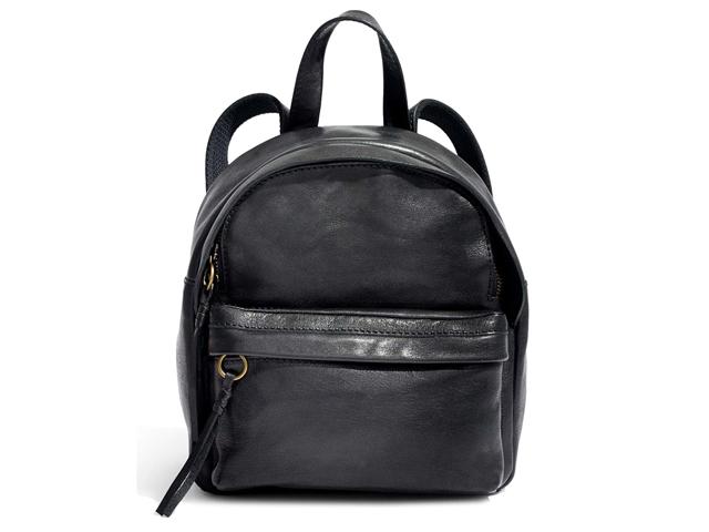 Madewell Mini Lorimer Leather Backpack