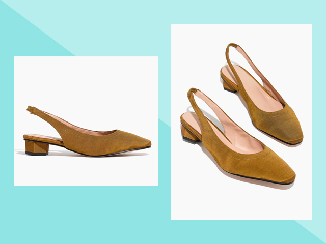 Travel Heels Madewell Soller About Arianne Galo Vegan Slingback Shoes
