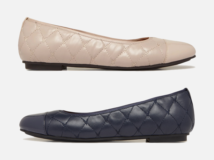 DESIREE QUILTED FLAT.