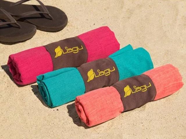 Beach Travel Blanket, Multi-Color Sand Repellent Blanket By Lagu