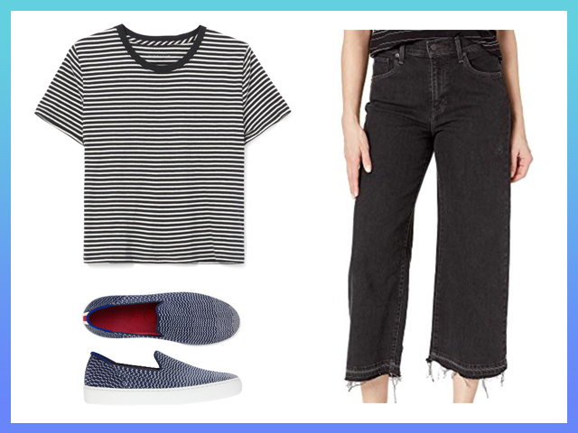 Best Chic Jeans and TShirt Outfit Women's