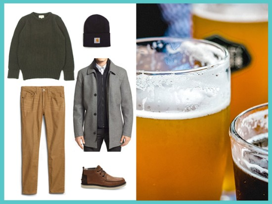 Night Out In a Mountain Town Men's Outfit Inspiration