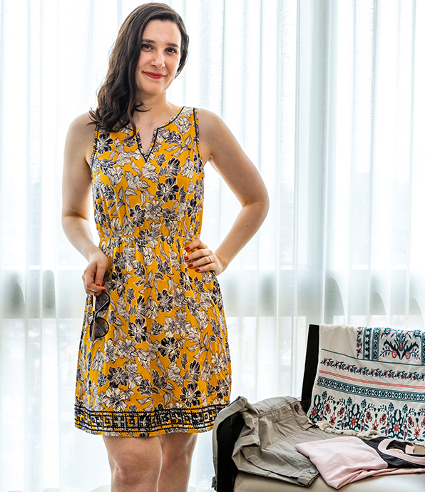 Pixley Auria Embroidered Dress.