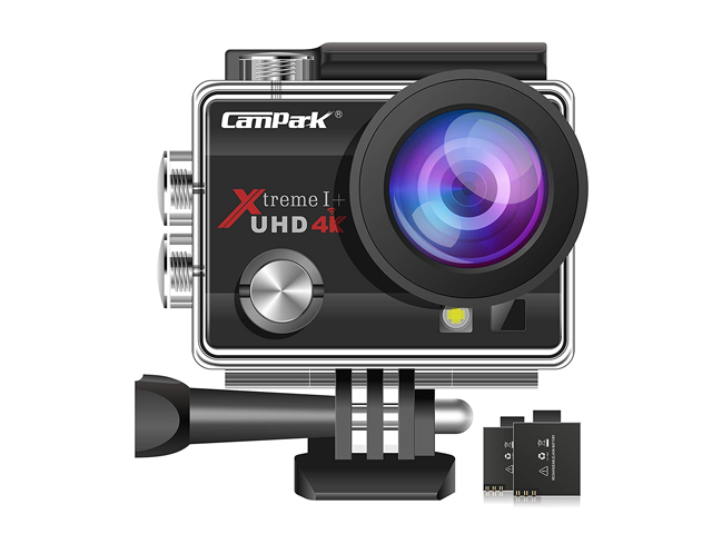 Campark ACT74 Action Camera 16MP 4K WiFi Underwater Photography Camera.