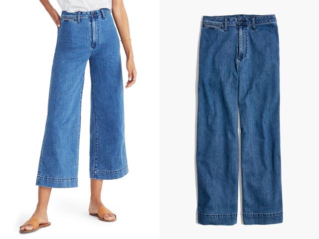 Emmett High Waist Crop Wide Leg Jeans MADEWELL.