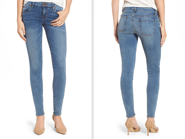 KUT from the Kloth Donna Skinny Jeans.
