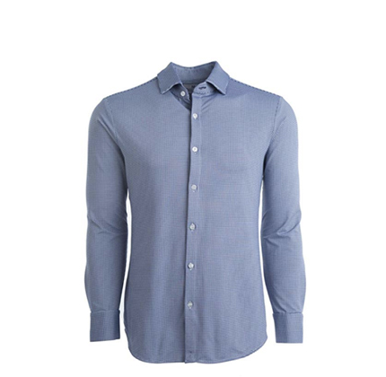 Mizzen + Main Spinnaker Trim Fit Mens Button Down Shirt.