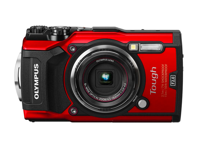 Olympus TG-5 Waterproof Camera with 3-Inch LCD.