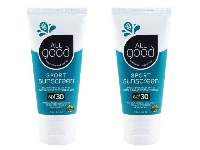 All Good Sport Sunscreen Lotion - Zinc Oxide.