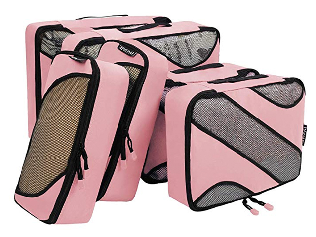 Bagail 6 Set Packing Cubes,3 Various Sizes.
