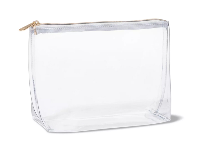 Sonia Kashuk™ Square Clutch Makeup Bag - Clear.