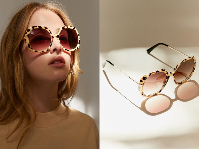 Greta Oversized Square Sunglasses.