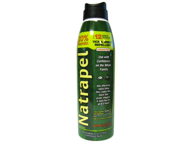 Natrapel 12 Hour Insect Repellent 6 Ounce Spray.