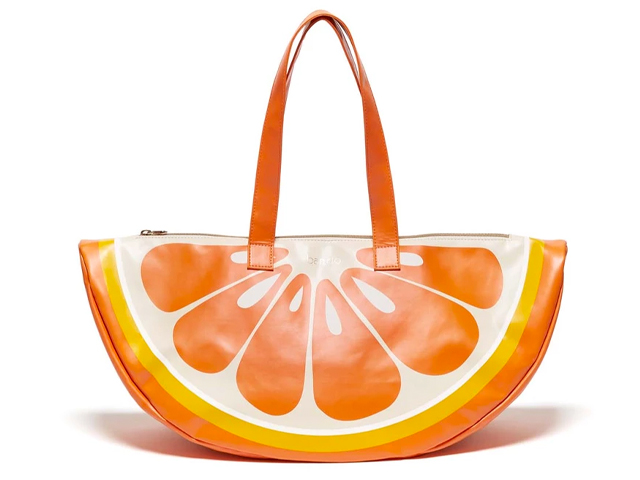 SUPER CHILL COOLER BAG - ORANGE.
