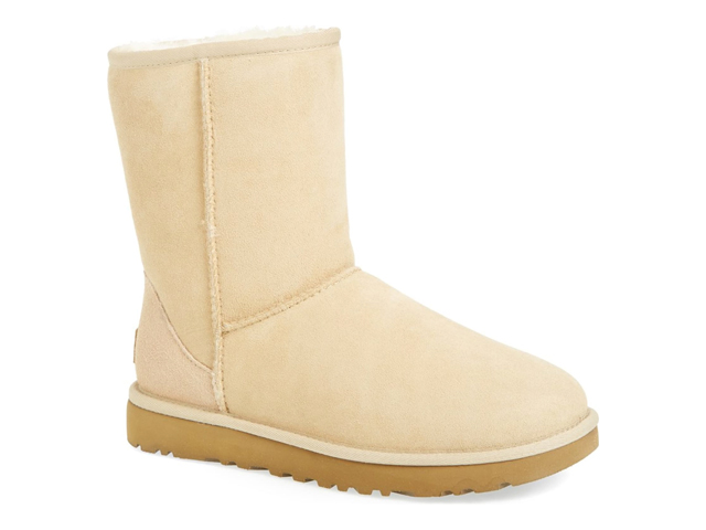 Classic II Genuine Shearling Lined Short Boot UGG®.