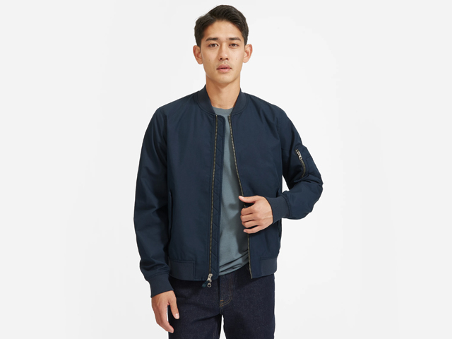 Everlane The Bomber Jacket | Uniform.