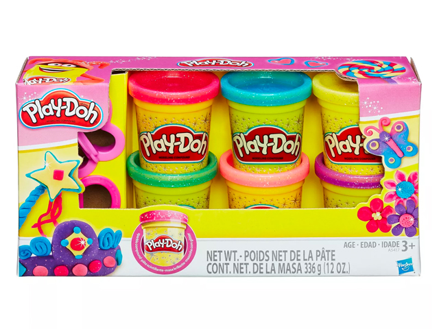 Play-Doh Sparkle Compound Collection.