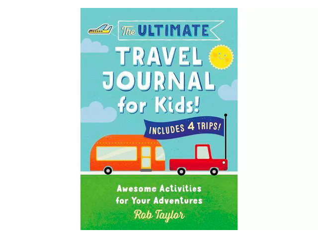 The Ultimate Travel Journal for Kids.
