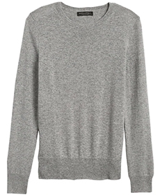 Cashmere Crew-Neck Sweater.