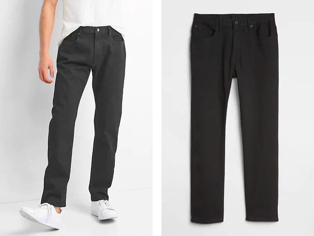 Gap Athletic Taper Jeans with GapFlex.