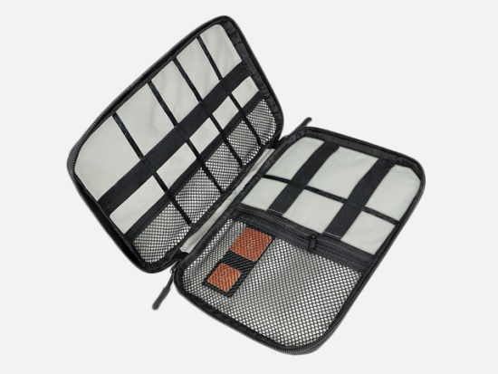 Travel Cable Organizer Bag Electronics Accessories Carry Case.