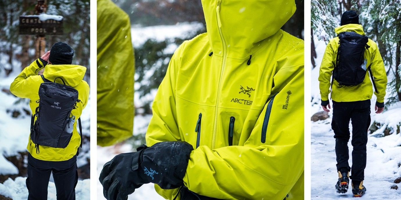 Arc'teryx Winter Gear Review.