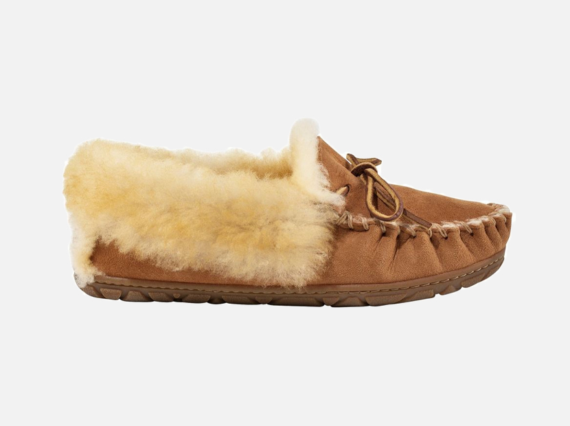 Women's Wicked Good Moccasins.