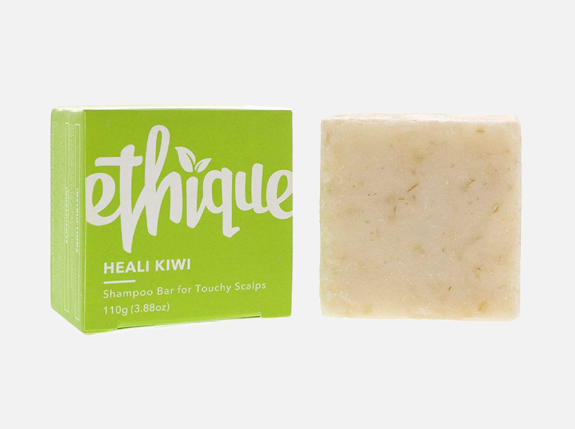 Ethique Eco-Friendly Solid Shampoo Bar.