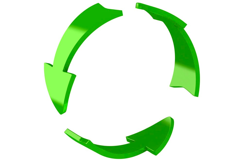 Recycling logo – a best option