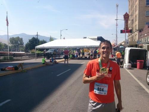 me at Missoula Marathon